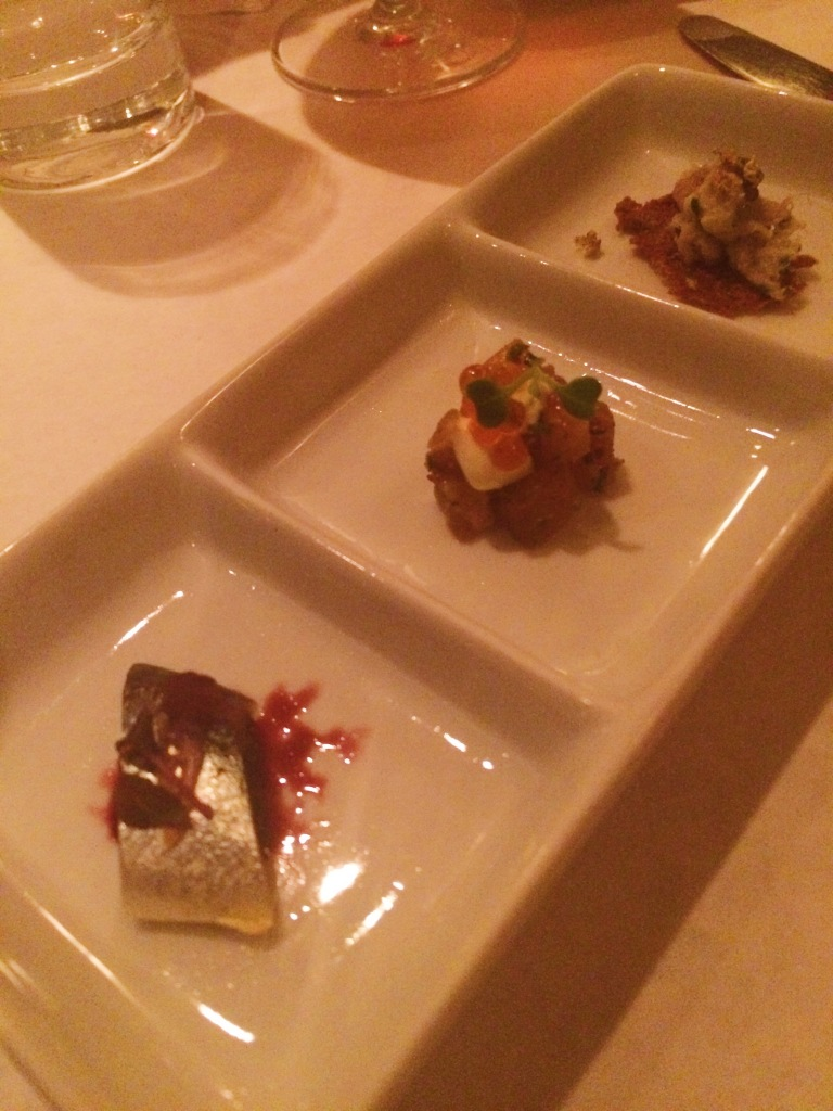 Trio of Amuse Bouches