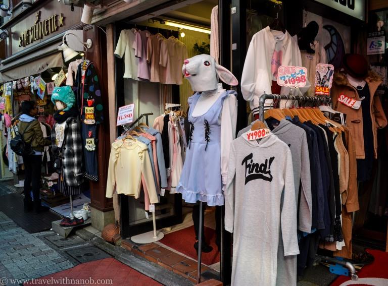 Japanese harajuku clothing stores online