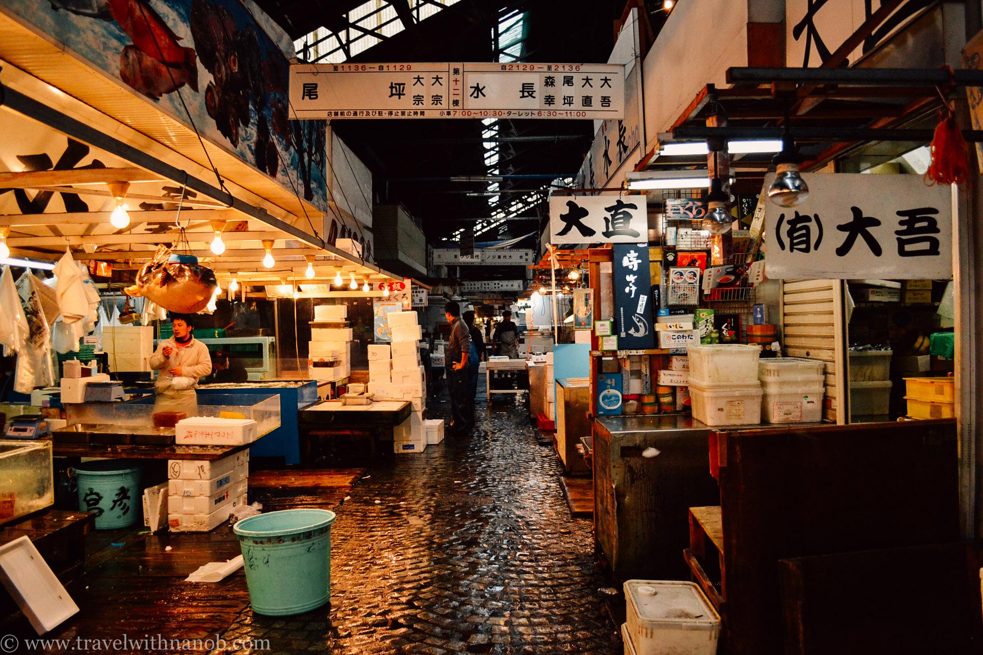 Guide to tsukiji fish market in tokyo travel with nano b for Japan fish market