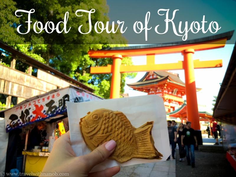 Kyoto Food Tour on www.travelwithnanob.com