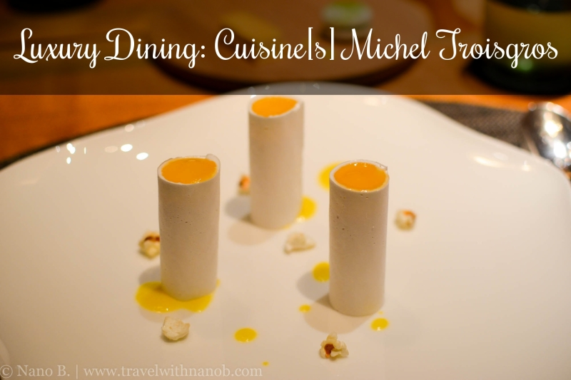 Tokyo Luxury Dining at 2-star Cuisine[s] Michel Troisgros on www.travelwithnanob.com