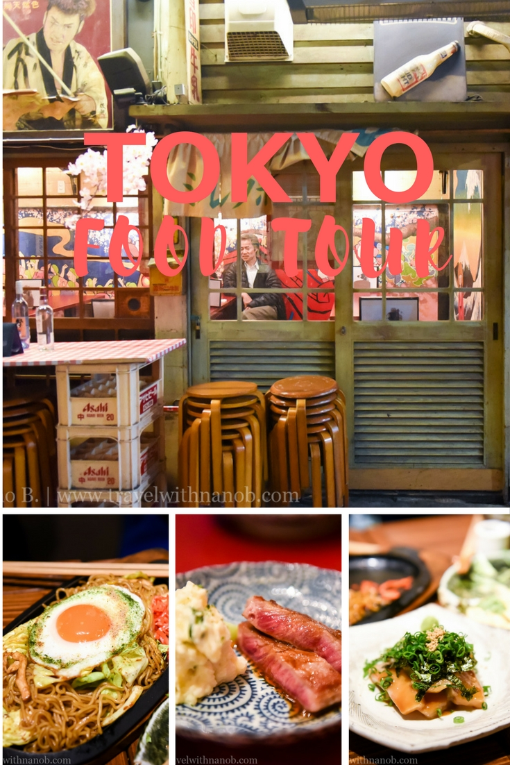 Tokyo Food Tour by Travel With Nano B.