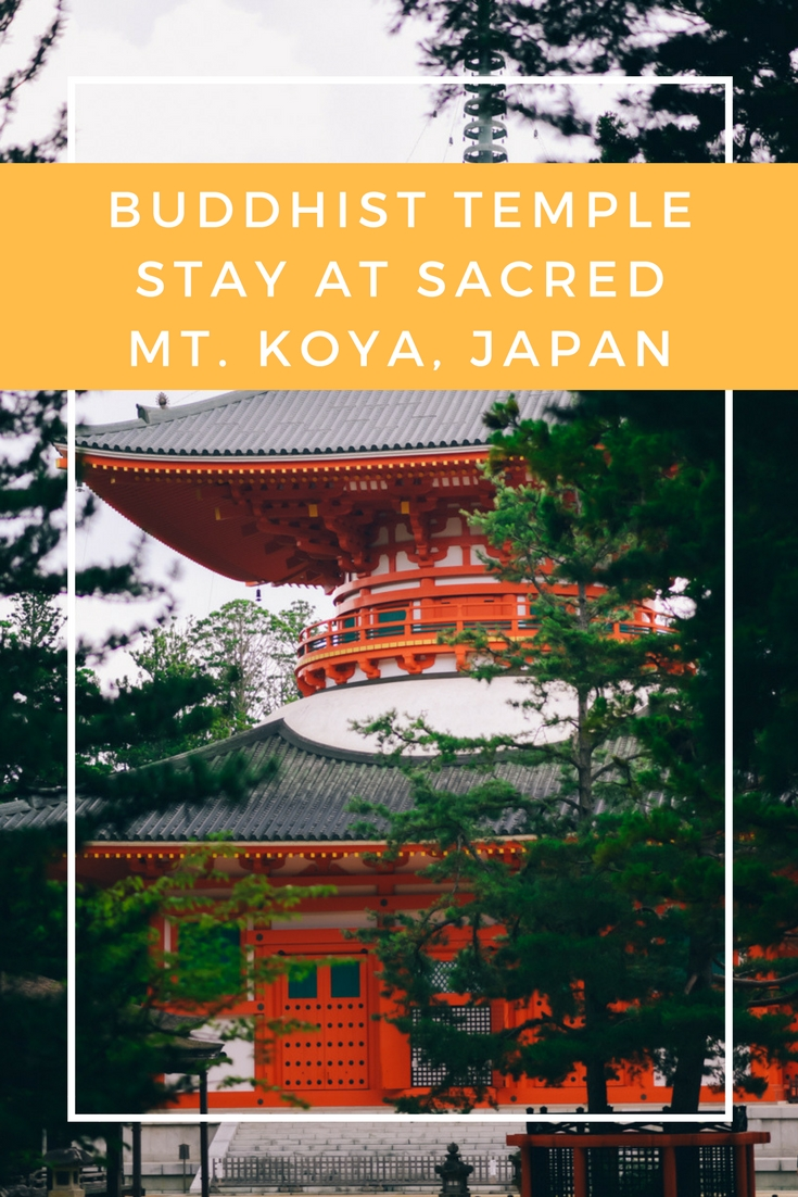 Buddhist Temple Stay at Mt.Koya in Japan by www.travelwithnanob.com_