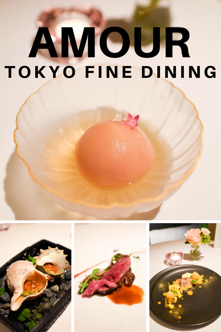 Amour Tokyo - Tokyo's Fine Dining on www.travelwithnanob.com