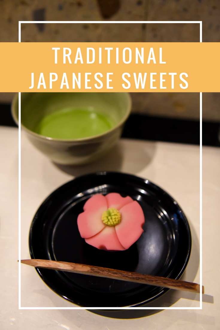 Where to enjoy wagashi in Tokyo - Tokyo Mise Tea Salon - Japanese Traditional Sweets on www.travelwithnanob.com