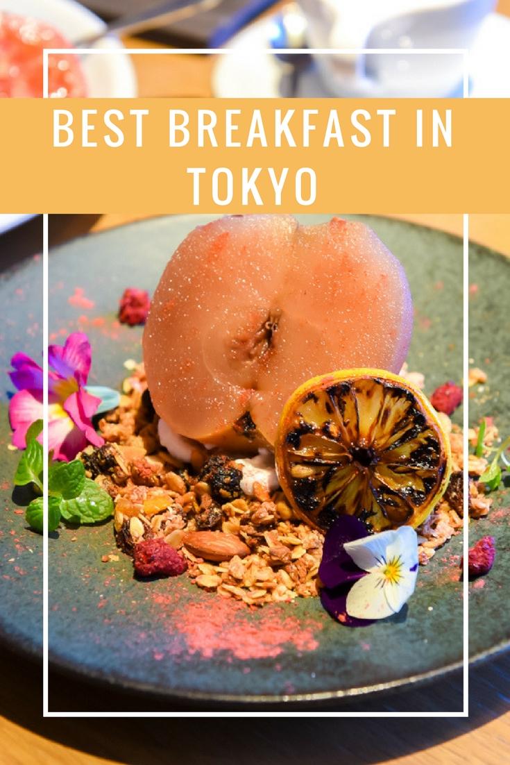 Tokyo's Best Breakfast on www.travelwithnanob.com