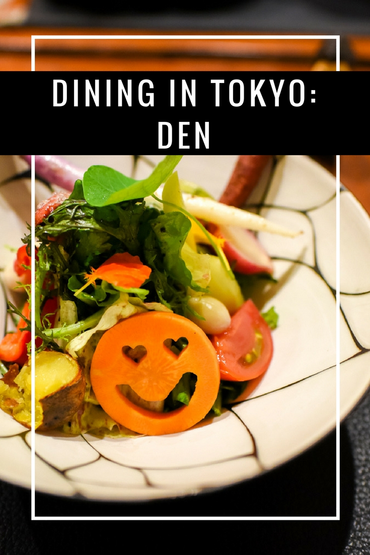 Review of DEN Tokyo on www.travelwithnanob.com