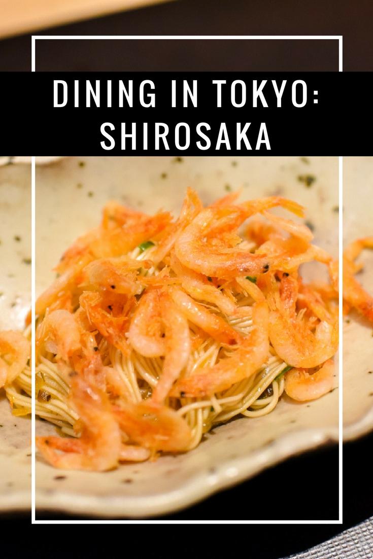 Tokyo Dining - Shirosaka Restaurant Review by www.travelwithnanob.com