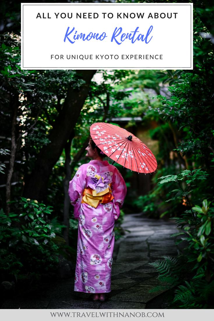 Kimono Rental in Kyoto 1