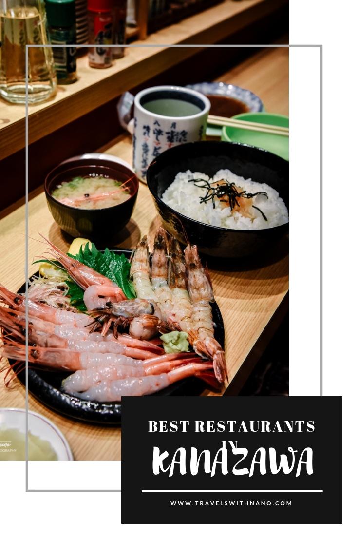 Best restaurants in Kanazawa